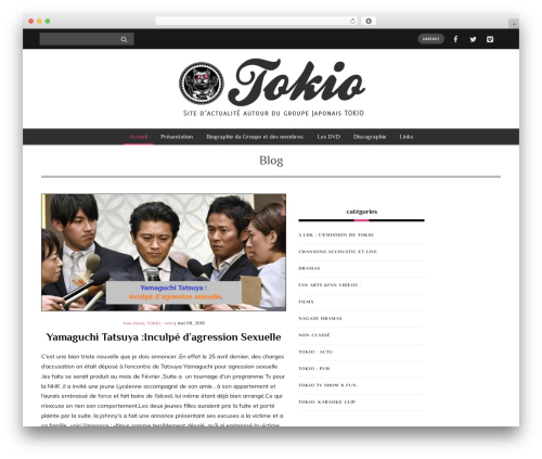 WordPress theme Yorkpress - tokio-nagase.com