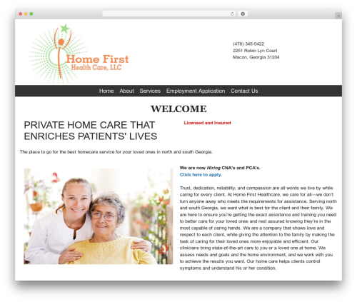 GeneratePress theme WordPress free - homefirsthealthcare.net
