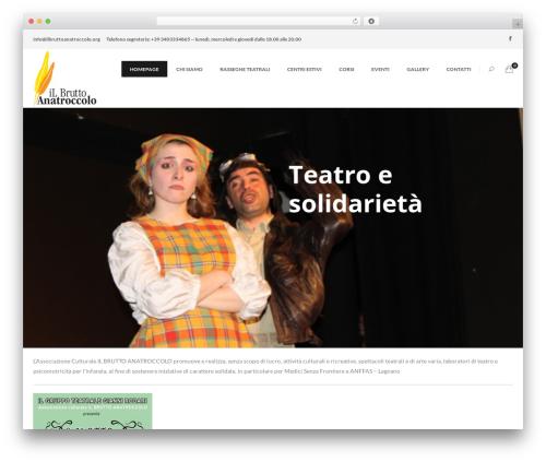 The Ocean WordPress theme - ilbruttoanatroccolo.org