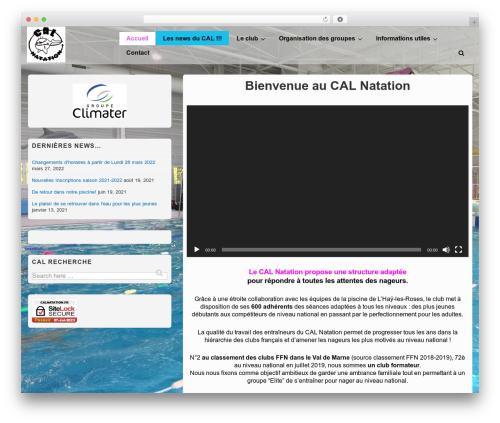 Theme WordPress Responsive - calnatation.fr