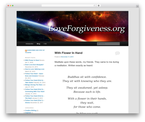 Twenty Eleven WordPress free download - loveforgiveness.org