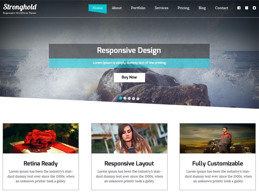 WordPress template stronghold_laboite