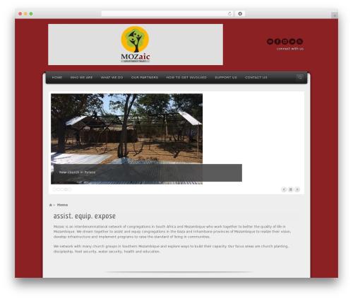 Best WordPress theme Alyeska - mozaictrust.co.za