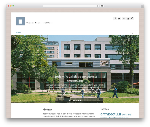 Catch Base Pro WordPress theme design - thomasrouwarchitect.nl