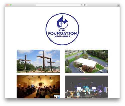 Divi company WordPress theme - ffm.church