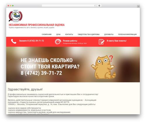 Sanitorium free WordPress theme - mskbis.ru