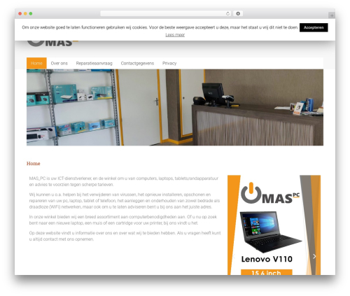 Best WordPress theme Accelerate Pro - maspc.nl