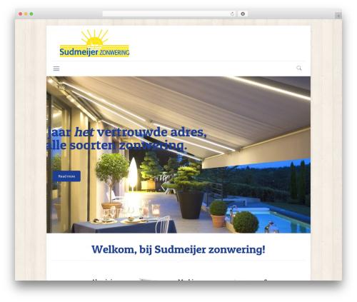 Betheme WordPress template for business - sudmeijer.nl