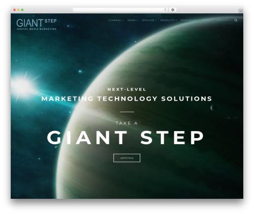 Johnblack template WordPress - giantstep.ca