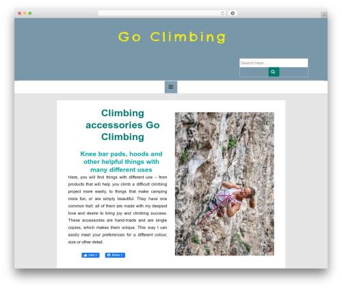 Responsive theme WordPress free - ida.gd