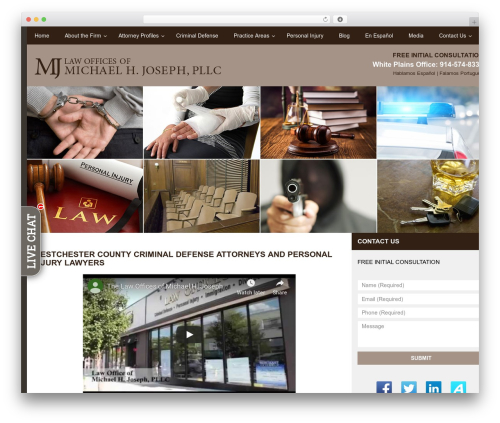spk top WordPress theme - whiteplainslawyers.org