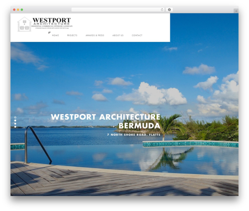 Theme WordPress Domik - westportarchitecture.bm