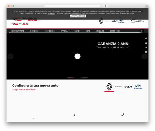 WebSparK Boilerplate Theme WordPress template - romanocars.it