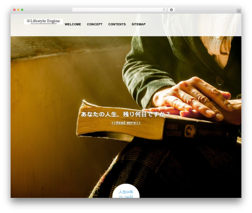 AGENT WP template - lifestyle-engine.com