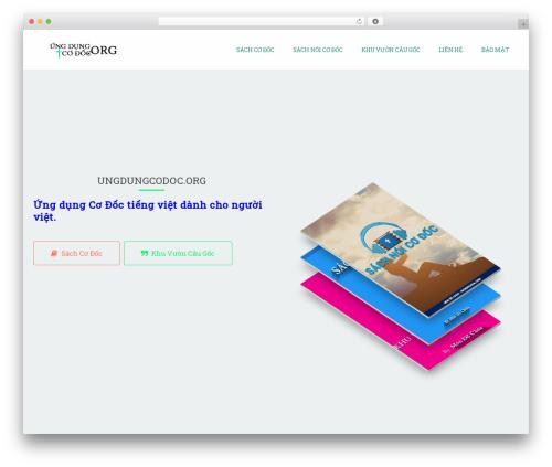 Applay top WordPress theme - ungdungcodoc.org