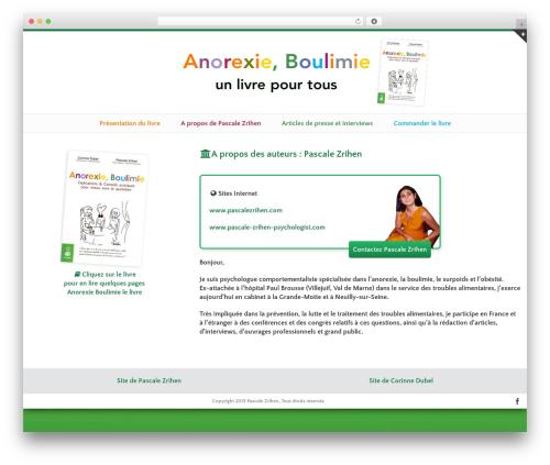 Avada best WordPress theme - anorexieboulimielelivre.fr