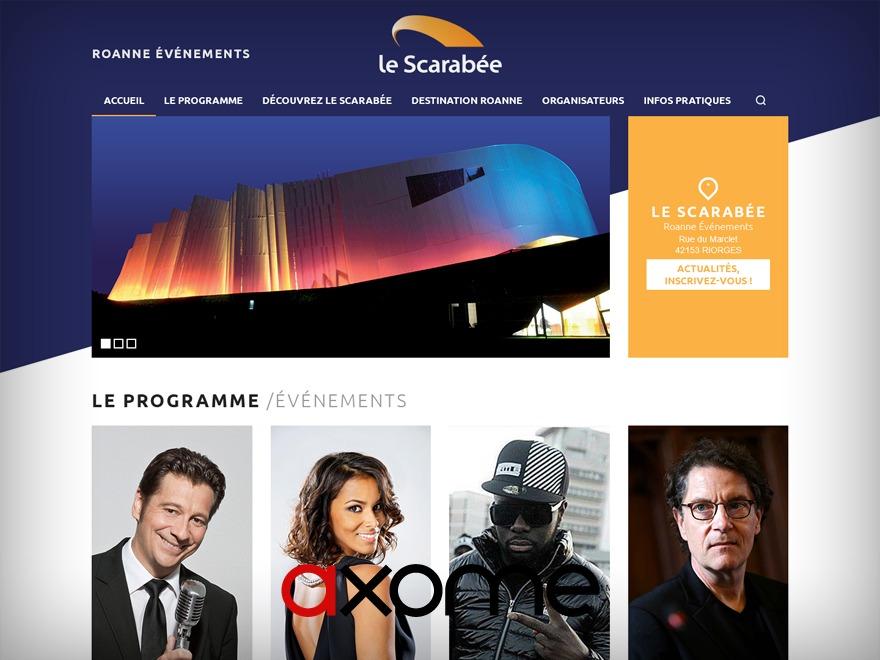 Le Scarabée WordPress theme