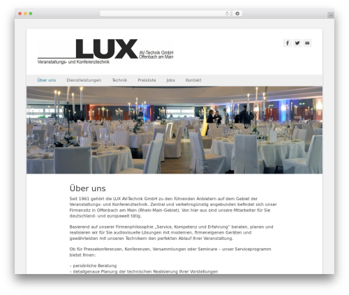 Theme WordPress Catch Base Pro - lux-av.net