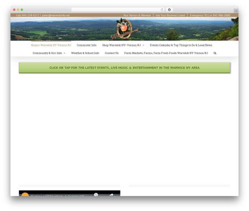 Avada company WordPress theme - warwickinfo.net
