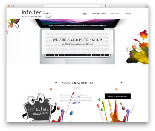 Beau WordPress template - infotecweb.net