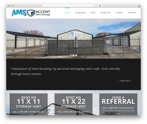 Best WordPress template Avada - martensvilleministorage.ca