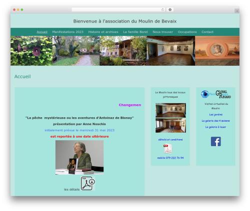 BlueGray free website theme - moulin-bevaix.ch