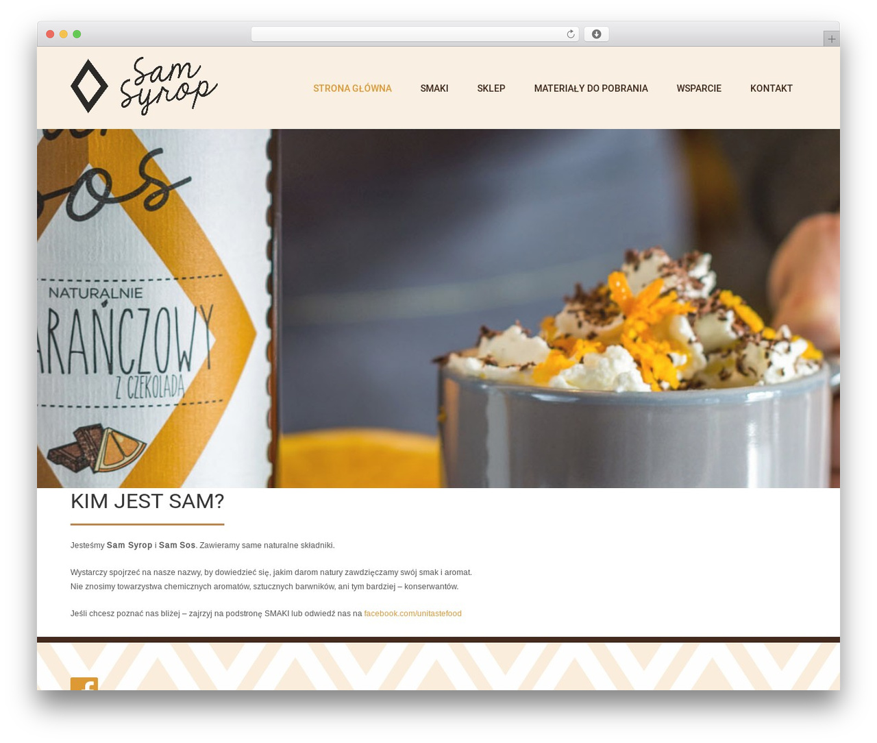 Coffee Pro WordPress theme - samsyrop.pl