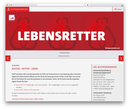 Template WordPress Blutsgeschwister - blutsgeschwister.net