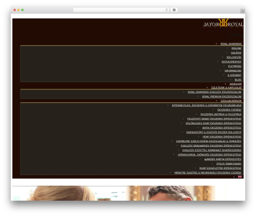 WordPress template harveststore - royaldiamonds.hu
