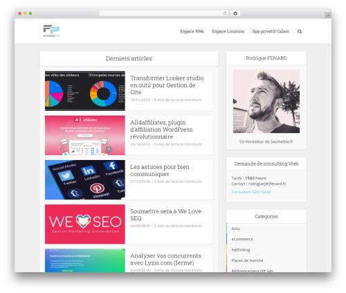 Free WordPress WP SEO HTML Sitemap plugin - fenard.fr