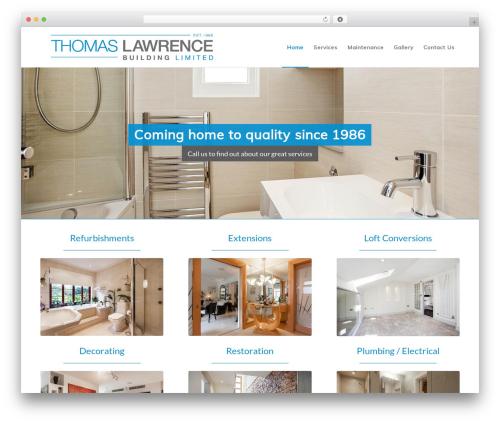 Enfold business WordPress theme - thomaslawrence.london