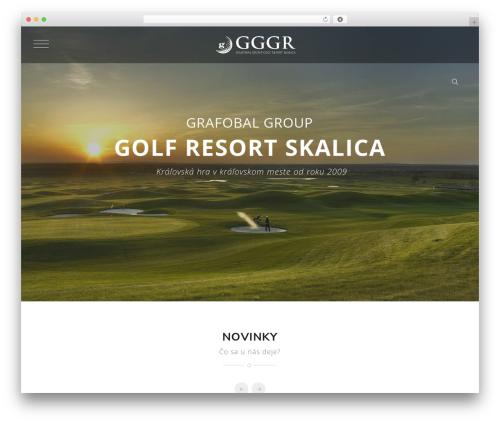 Knox WordPress theme - golfskalica.sk