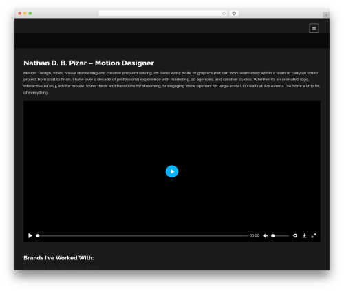 Lumos premium WordPress theme - pizar.net