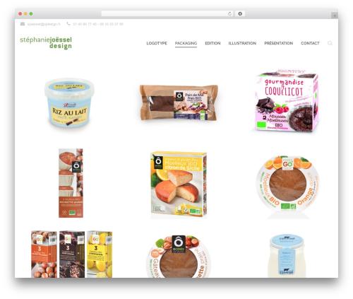 Qaro template WordPress - sjdesign.fr