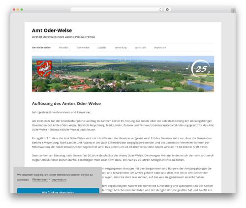 Twenty Twelve WordPress theme free download - amt-oder-welse.de