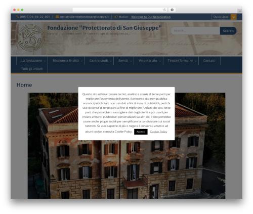 Education Hub best free WordPress theme - protettoratosangiuseppe.it