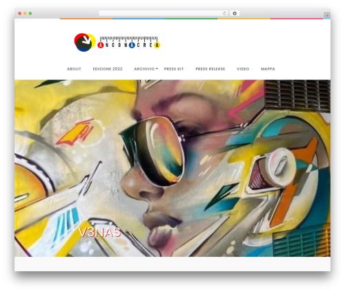 LiveBlog free WP theme - anconacrea.it