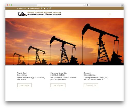 Template WordPress Divi - cihc.info
