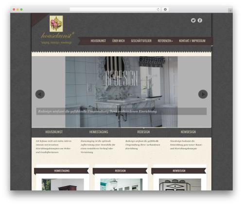Template WordPress housekunst - housekunst.de
