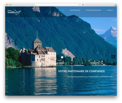 Theme WordPress Inspirado - riviera-voyages.ch
