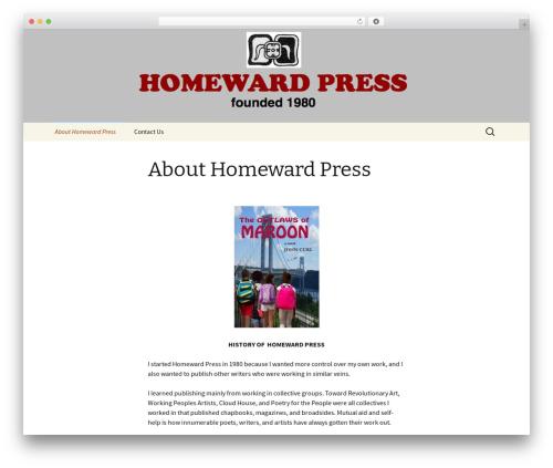 Twenty Thirteen template WordPress free - homewardpress.net