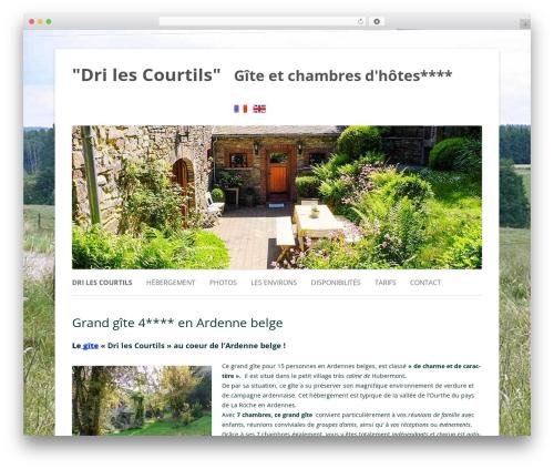Twenty Twelve WordPress template free - le-gite-ardennes.be