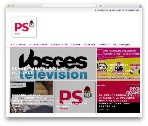 15zine (shared on themelord.com) WordPress theme - ps-vosges.fr