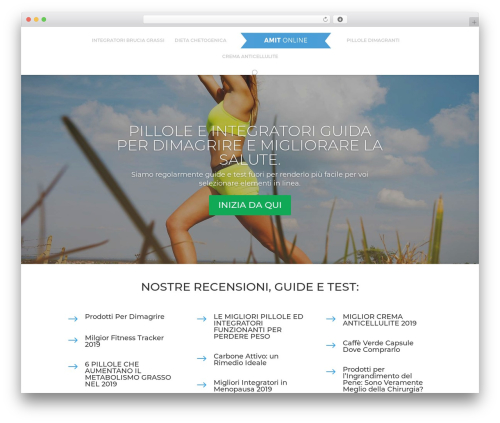 Divi WordPress theme - amitonline.it