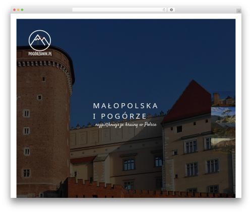 Narcos premium WordPress theme - pogorzanin.pl