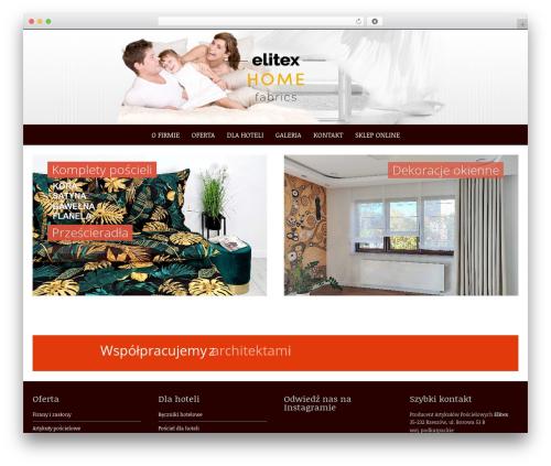 Pure & Simple template WordPress free - elitex.pl
