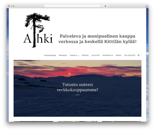 WordPress website template Arouse Pro - aihkioy.fi