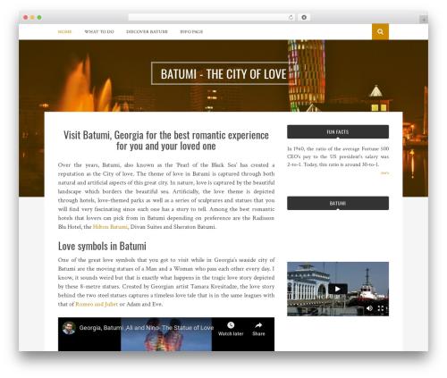 Bulan WordPress template free - grandgrill.net