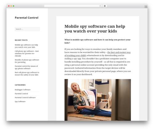 Twenty Fifteen WordPress theme download - kastleman.net
