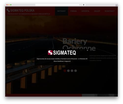 cherry WordPress theme - bariery-drogowe.pl